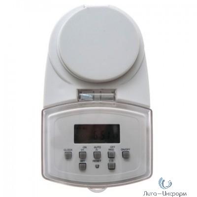 Camelion BND-50/SG50 (Таймер цифровой розеточный IP44, 7-дневная программа, 230/1800Вт)