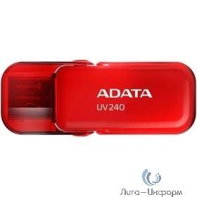 A-DATA Flash Drive 16Gb UV240 AUV240-16G-RRD {USB2.0, Red}