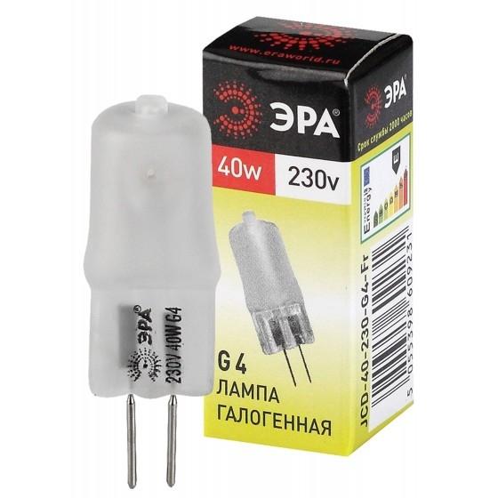 ЭРА C0039282 Лампа галогенная JCD-40W-230V-G4-Fr