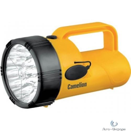 Camelion LED29314 (фонарь аккум. 220В, желтый, 19 LED, 4В 2,3А-ч, пластик, коробка)
