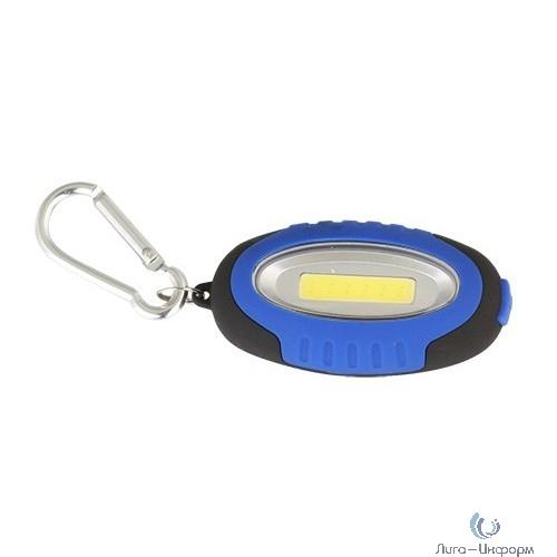 Camelion LED267-1  (мини-фонарь, COB LED, 2XCR2032, пластик, магнит, подвес, блистер-пакет)