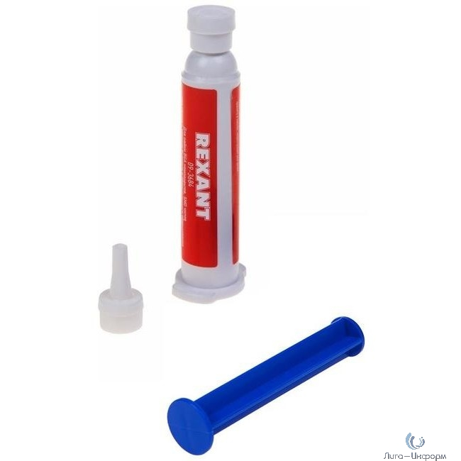 REXANT (09-3684) Флюс-гель для пайки BGA и SMD 12мл (шприц)