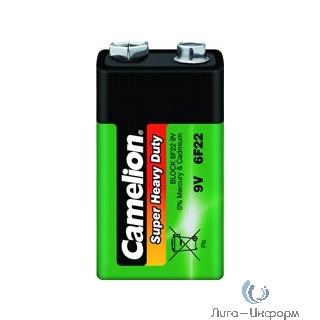 Camelion 6F22 SR-1 (6F22-SP1G, батарейка,9В) (1 шт. в уп-ке)