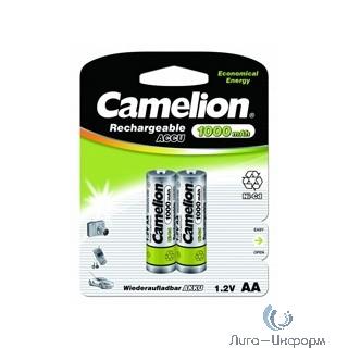 Camelion   AA-1000mAh Ni-Cd BL-2 (NC-AA1000BP2, аккумулятор,1.2В) (2 шт. в уп-ке)