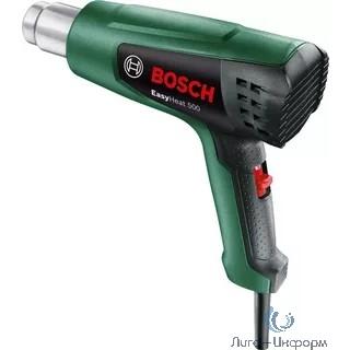 Bosch EasyHeat 500 Технический фен [06032A6020] { Мощность/напряжение: 1600 Ватт , вес: 0,75 кг, температура: 300 / 500 оС, поток воздуха: 240 / 450 л/мин }