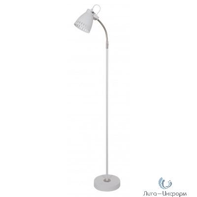 Camelion KD-428F  С01  белый (Светильник напольный New York, 1х E27, 40Вт, 230В, металл)