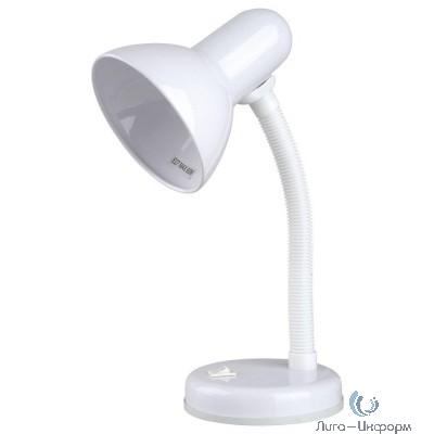 Camelion KD-301 С01 белый (Светильник настольный,230V 60W)
