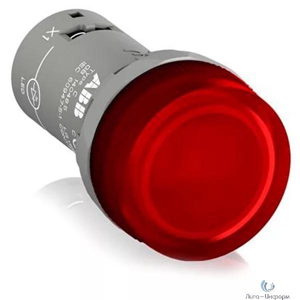ABB 1SFA619403R5021 Лампа CL2-502R красная со встроенным светодиодом 24В AC/DC
