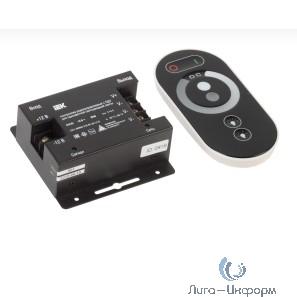 Iek LSC1-MONO-216-RF-20-12-B Контроллер с ПДУ радио (черный) MONO 3 канала 12В, 6А, 216Вт IEK