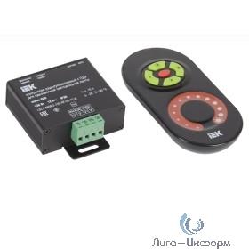 Iek LSC2-MONO-120-RF-20-12-B Контроллер с ПДУ радио (черный) MONO 1 канал 12В, 10А, 120Вт IEK-eco