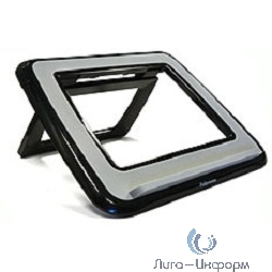 """Fellowes® I-Spire Series™, Подставка для ноутбука до 17"""" с регулировкой высоты, черная, шт"""
