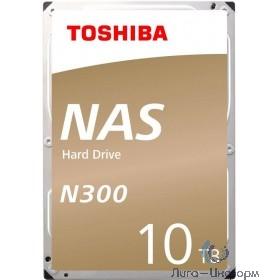 "10TB Toshiba N300 (HDWG11AUZSVA) {SATA 6.0Gb/s, 7200 rpm, 256Mb buffer, 3.5"" для NAS}"