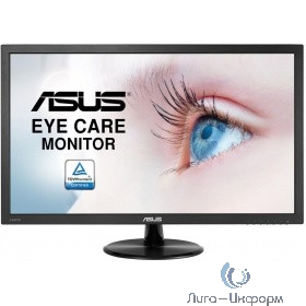 "ASUS LCD 23.6"" VP247HAE черный {TN+film LED 1920x1080 5ms 16:9 250cd 178/178 D-Sub HDMI}"
