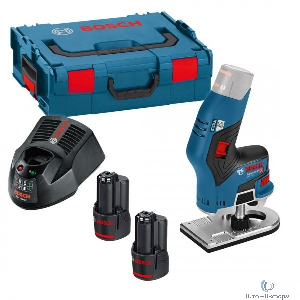 Bosch GKF 12V-8 Фрезер [06016B0000] { 12 В, 13 000 об/мин, L-BOXX }