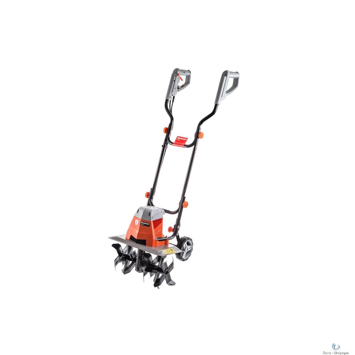 Hammer Flex EC1500 Культиватор электрический [501215] { 1500Вт, ширина обработки 40 см, глубина 22 см }