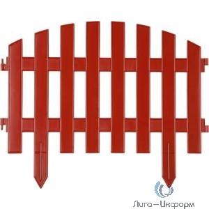"""Забор декоративный GRINDA """"АР ДЕКО"""", 28x300 см, терракот [422203-T]"""