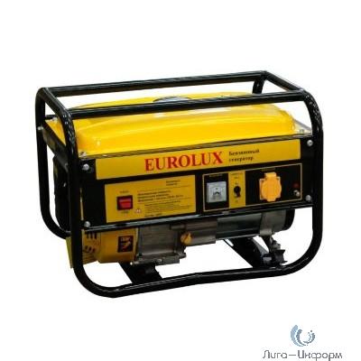 Eurolux G6500A [64/1/42] Электрогенератор { четырехтактный, 5000Вт, 220В/50Гц, 81Дб, принудительное охлаждение, бак 22 л, расход бензина 374 г/кВтч, расход масла 6,8 г/кВтч }