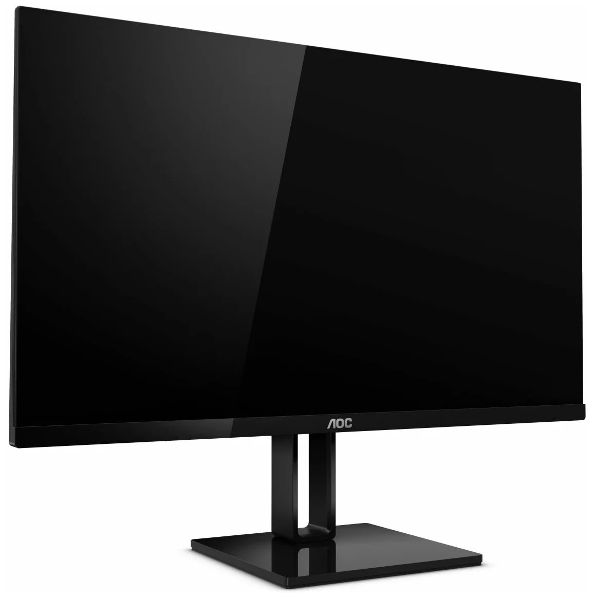 "LCD AOC 27"" 27V2Q (00/<wbr>01) черный IPS 1920x1080 5ms 75hz178/<wbr>178 250cd 1000:1 HDMI (1.4) DisplayPort (1.2) AMDFreeSync AudioOut"