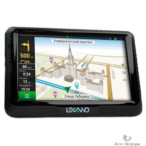 """LEXAND CD5 HD Click&Drive (5"""" HD 800*480, активный магнитный держатель, Прогород Россия + 60 стран)"""