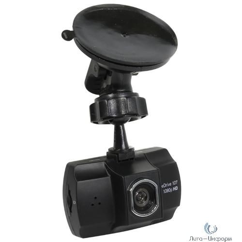 Видеорегистратор Digma FreeDrive 107 черный 1Mpix 1080x1920 1080p 140гр. NTK96220 [381626]