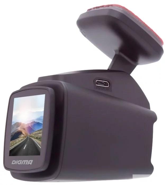 Видеорегистратор Digma FreeDrive 700-GW MAGNETIC черный 2.19Mpix 1080x1920 1080p 150гр. NTK96558 Магнитное крепление, Sony Sensor