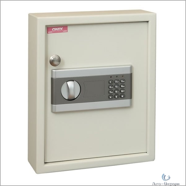 Ключница KE-48, Брелоки в комплекте, размер 365x300x100, электронный замок + ключевой замок
