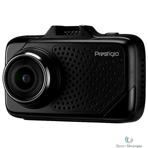 Car Video Recorder PRESTIGIO RoadRunner 700GPS (SHD 2304x1296@30fps, 2.7 inch screen, Ambarella A7LA50, 4 MP CMOS OV4689 image sensor, 4 MP camera, 170° Viewing Angle, Micro USB, 250 mAh, GPS, Moti