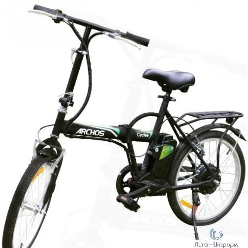 ARCHOS Cyclee Электровелосипед (аллюминий, 20 кг, 250 Вт, до 25 км/ч, 20 км на одной зарядке, до 100 кг, Li-ion 24V, 6.0 Ah, 503486)
