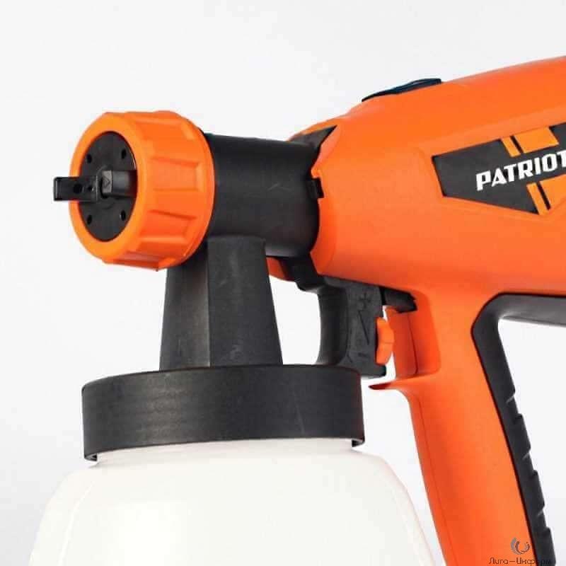 PATRIOT SG 500 Краскопульт электрический [170303505] { 500 Вт, 900 мл/мин, 100 DIN/сек, 1,6 кг }