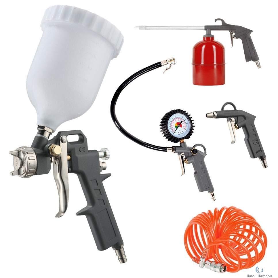 PATRIOT KIT 5A Набор окрасочного инструмента 5 предметов быстросъем [830901060]