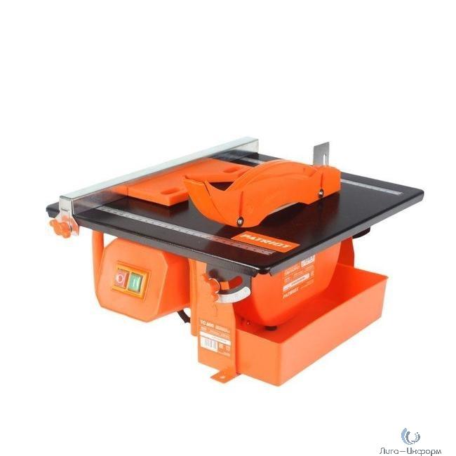 PATRIOT TC 600 Плиткорез электрический [160300600] { 600Вт, ниж. двигатель , диск 180х22,2 мм }