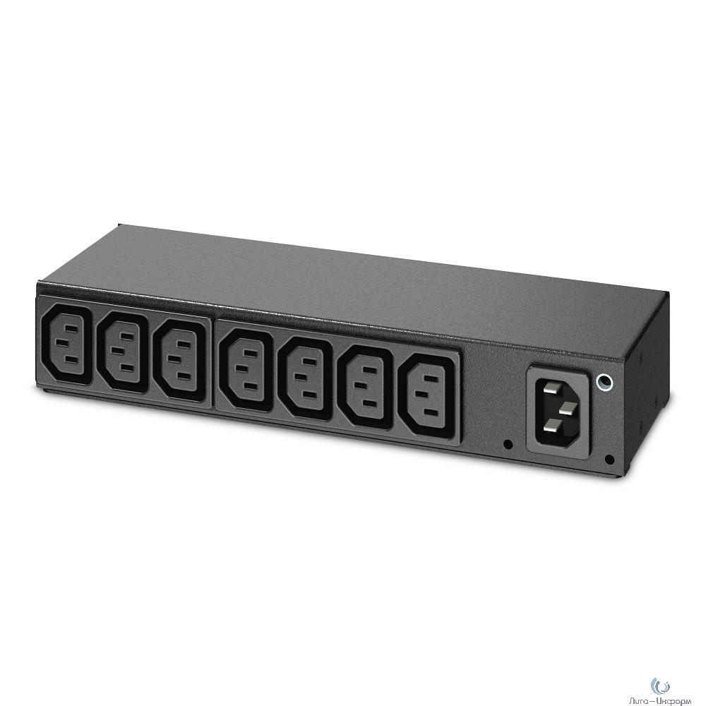 APC AP6015A Rack PDU, Basic, 0U/1U, 120-240V/15A, 220-240V/10A, (8) C13