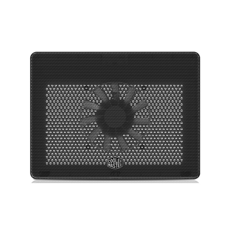 "Cooler Master MNW-SWTS-14FN-R1 Laptop Cooling NotePal L2 (17"" , 1x (160x160x15), USB 2.0 x 1, Micro USB x 1, Black"