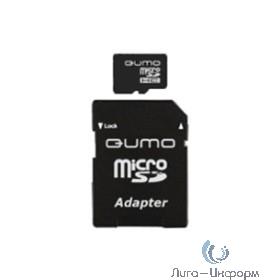 Micro SecureDigital 8Gb QUMO QM8GMICSDHC10U1 {MicroSDHC Class 10, SD adapter, UHS-I}