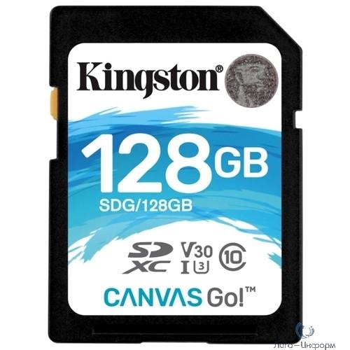 Micro SecureDigital 128Gb Kindston SDXC/SDG 128Gb {Class10 Kingston SDG, 128GB Canvas Go}