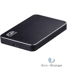"AgeStar 3UB2A18 (BLACK) USB 3.0 Внешний корпус 2.5"" SATA алюминий+пластик, черный"