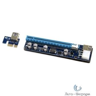 5bites PRC-10 Адаптер PCI-E / X1-M / X16-F / 6P