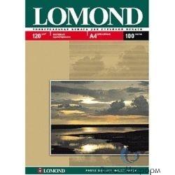 0102030  LOMOND  Матовая бумага 1x A4, 120г/м2, 25л