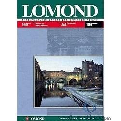 0102031  LOMOND  Матовая бумага 1x A4, 160г/м2, 25л