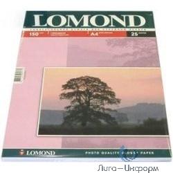 0102043  LOMOND  Глянцевая бумага 1x A4, 150г/м2, 25л