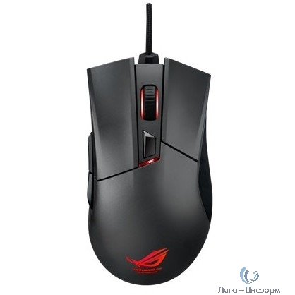 ASUS [90MP0081-B0UA00] ROG Gladius Mouse USB  Steel Grey