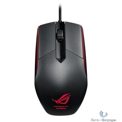 ASUS [90MP00B1-B0UA00] ROG Sica Steel Mouse USB  Grey