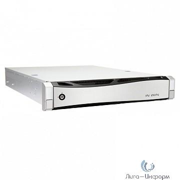 "Корпус Inwin IW-RS208-02M EP1A5501B(500W Acbel Gold) / USB3.0*2 / NMB 8038mm5500RPM*4 / SAS 12G/8bay / SL28"" [6131834]"