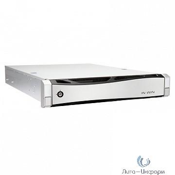 "Корпус Inwin IW-RS208-02M R21S7651A(650W Acbel Gold) / USB3.0*2 / NMB 8038mm5500RPM*4 / SAS 12G/8bay / SL28"" [6131835]"