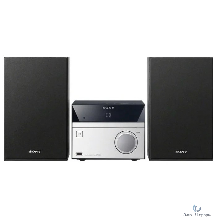 Sony CMT-SBT20 серебристый/черный 12Вт/CD/CDRW/FM/USB/BT