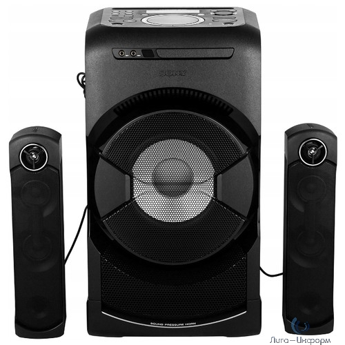 Sony MHC-GT4D черный 2400Вт/CD/CDRW/DVD/DVDRW/FM/USB/BT