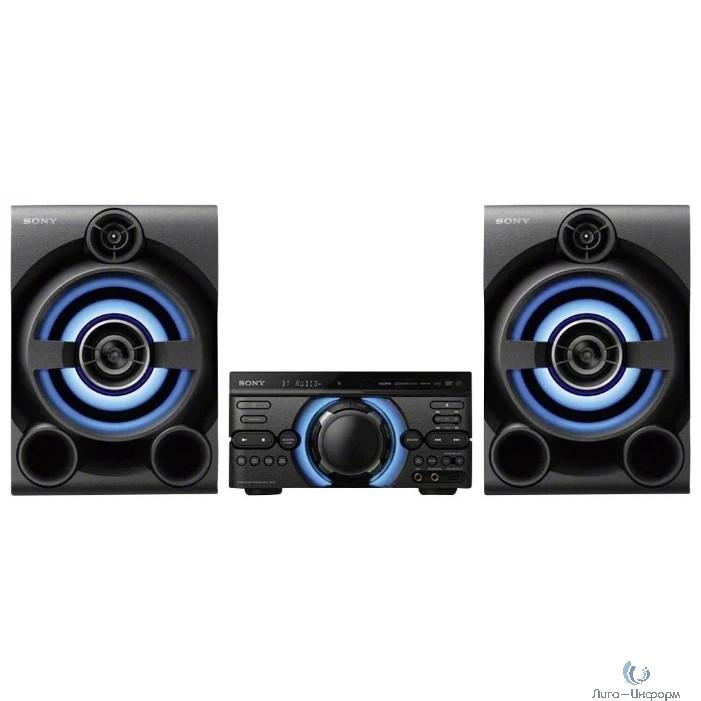 Sony MHC-M60D черный/CD/CDRW/DVD/DVDRW/FM/USB/BT
