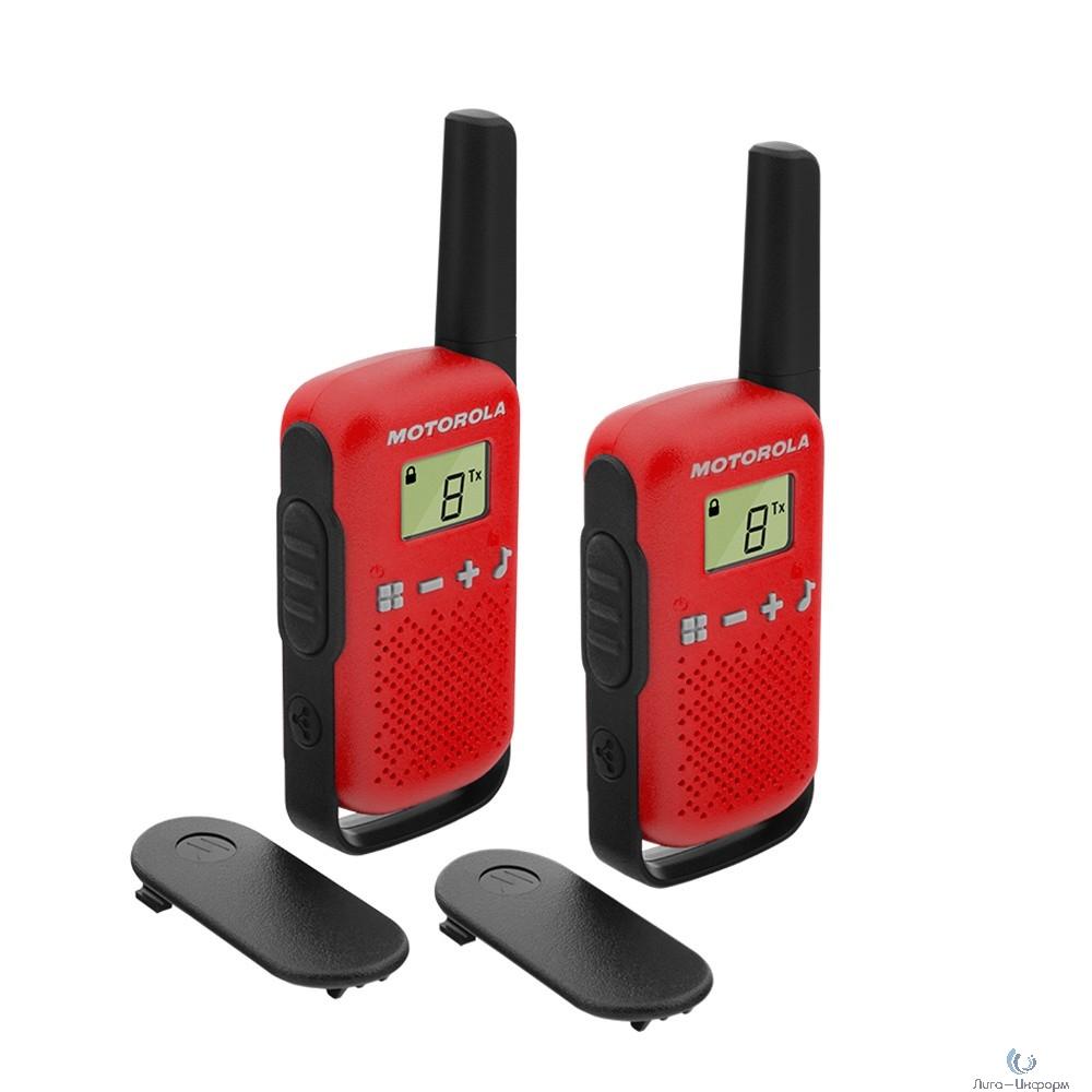 Motorola B4P00811RDKMAW TALKABOUT T42 RED