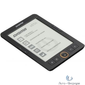 "Электронная книга Digma E654 6"" E-Ink Carta 800x600 600MHz/4Gb/microSDHC графит [1066710]"
