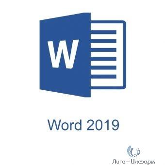 059-09181 Word 2019 Sngl OLP NL